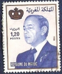 Stamps Morocco -  Rey Hassam II