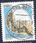 Sellos del Mundo : Europa : Italia :  Castillo de Arechi-Salerno