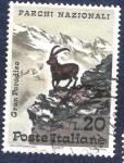 Stamps Italy -  Parque Nacional Gran Paraíso