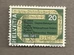Stamps Switzerland -  75 años Agencia telegráfica suiza
