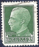 Stamps Italy -  Rey Victor Manuel III