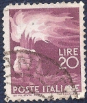 Stamps Italy -  Antorcha