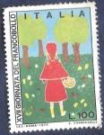 Sellos de Europa - Italia -  XVII Jornada de sello