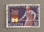 Stamps Switzerland -  50 años del Día Internacional del Trabajo