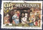 Stamps Slovenia -  Adoración al Niño