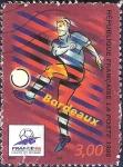 Sellos del Mundo : Europa : Francia : Mundial de fútbol Francia '98 Burdeos