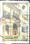 Stamps Gibraltar -  1993 Calle Real - Main Street
