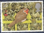 Stamps United Kingdom -  Pájaro