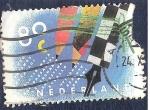 Sellos de Europa - Holanda -  Lápices y pluma