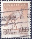 Sellos de America - Uruguay -  Ave