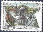 Stamps Italy -  Jardín