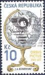 Stamps Czech Republic -  Globo terráqueo