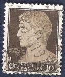 Sellos de Europa - Italia -  Emperador Augusto