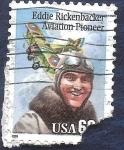 Sellos de America - Estados Unidos -  Eddie Rickenbacker pionero de la aviación