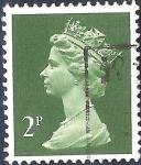 Sellos de Europa - Reino Unido -  Reina Isabel II