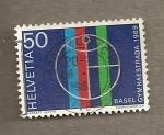 Stamps Switzerland -  Calle gimnastica en Basilea
