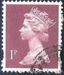 Stamps United Kingdom -  Reina Isabel II