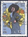 Stamps Italy -  Dina Galli