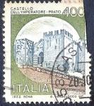 Sellos de Europa - Italia -  Castillo Dell 'Imperatore-Prato