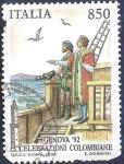 Sellos de Europa - Italia -  Celebracion colombina
