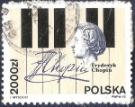 Sellos del Mundo : Europa : Polonia :  Fryderyk Chopin