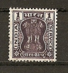 Stamps India -  Columna de Asoka.
