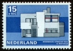 Stamps of the world : Netherlands :  HOLANDA - Rietveld Schröderhuis (Casa Rietveld – Schröder)
