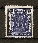 Stamps Asia - India -  Columna de Asoka.