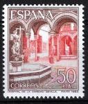Sellos de Europa - España -  2728 Patio interior del Hospital de la Caridad, Sevilla