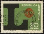 Sellos de America - Argentina -  Emblema del LIONS CLUB INTERNATIONAL.