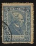 Stamps Argentina -  Conmemorativo del centenario del nacimiento del General Bartolomé Mitre.