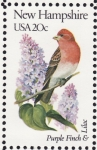 Stamps United States -  NEW HAMPSHIRE