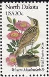Stamps United States -  NORTH DAKOTA