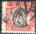 Sellos de Europa - España -  ESPAÑA Huerfanos de Correos 1941 Sello º Donativo Voluntario 5c