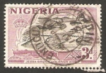 Sellos del Mundo : Africa : Nigeria : puente jebba sobre el rio niger