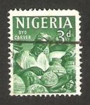 Stamps of the world : Nigeria :  Artesanía
