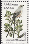 Stamps United States -  OKLAHOMA