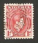 Stamps Nigeria -  george VI