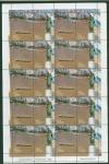 Sellos de America - Argentina -  Plancha de sellos de Rosario