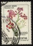 sellos de America - Argentina -  Flor de Lapacho Negro - tabebuia ipe -
