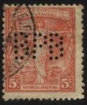 Sellos del Mundo : America : Argentina : Conmemorativo del Primer Congreso Postal Panamericano realizado en el año 1911 en la ciudad de Monte