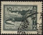 Stamps Argentina -  Yacaré.
