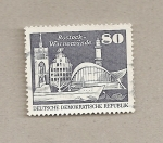 Sellos de Europa - Alemania -  Faro de Rostock