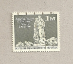 Stamps Germany -  Memorial a los soviéticos