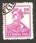 Sellos de Europa - Rumania -  oficio de minero