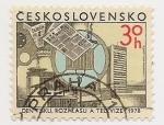 Stamps Czechoslovakia -  Dentizku, Rozhlasu A Televize