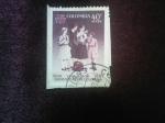 Stamps : America : Colombia :  Scott/Colombia:C437 - 25 años de los Guías Scouts de Col.