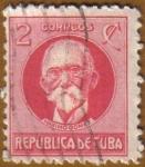 Stamps America - Cuba -   MAXIMO GOMEZ