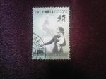 Sellos de America - Colombia -  Derechos-Políticos-de-la-Mujer