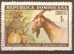 Stamps Dominican Republic -  CABRA   Y   FRUTAS